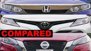 2020 Toyota Camry vs 2020 Honda Accord vs 2020 Nissan Altima | Best Midsize Sedan for 2020?