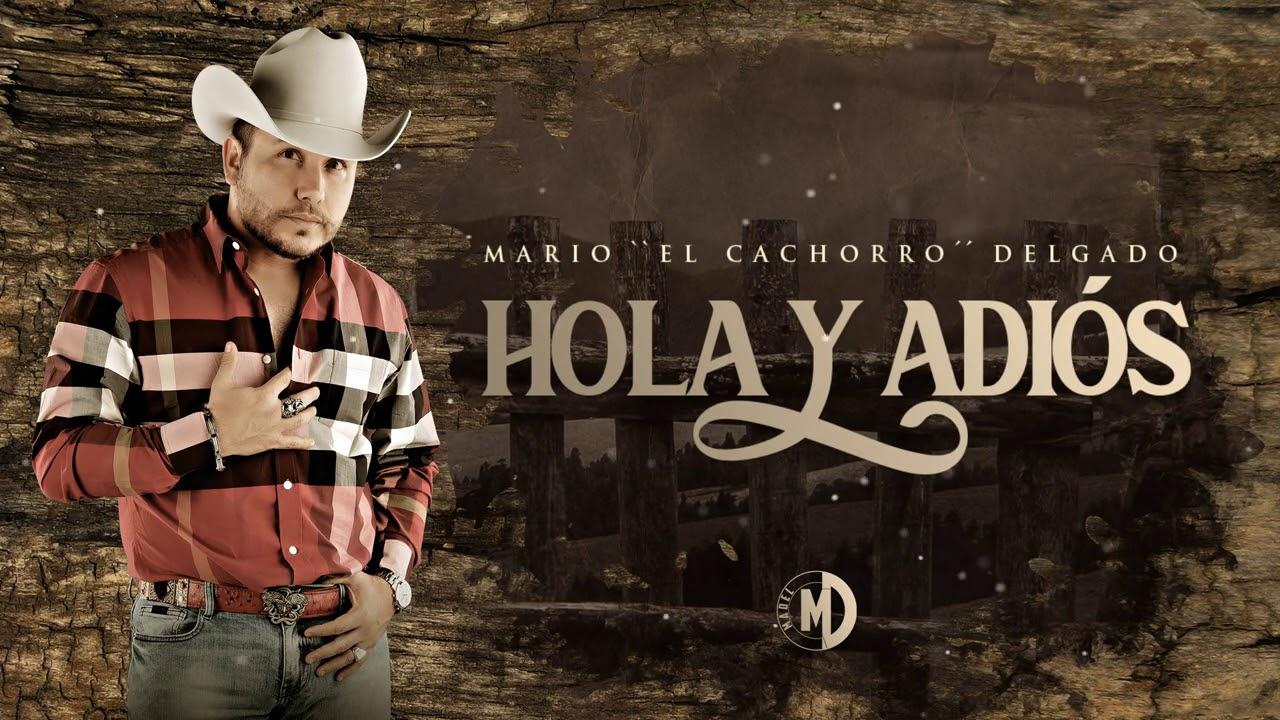 """Mario """"El Cachorro"""" Delgado - Hola Y Adiós (Vídeo Lyric) 2020"""