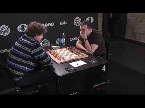 9. Карлсен - Франсиско Вальехо Понс, Голландская защита (2015)