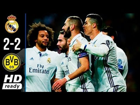 Download Real Madrid vs Dortmund 2-2 - All Goals & Extended Highlights - UCL 07/12/2016 HD