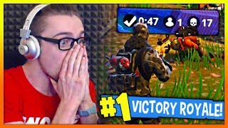 MY FIRST SOLO SQUAD WIN! (Fortnite Battle Royale)
