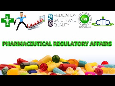 Pharmaceutical Regulatory Affairs