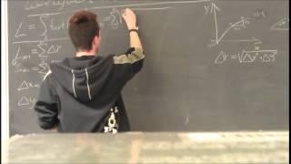Længden af en vektorfunktion