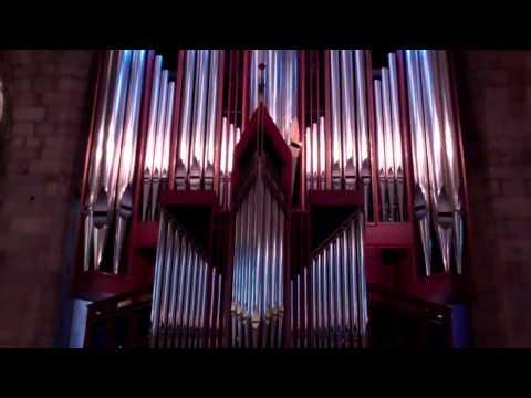 Christmas Day Organ Music St Giles' Cathedral Edinburgh Scotland