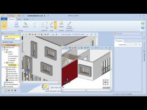 Architectural BIM Design with Edificius