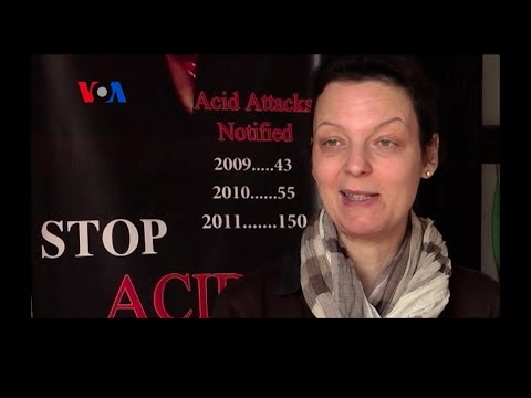 Acid Attack Victims Speak Out: WARNING - GRAPHIC VIDEO (VOA On Assignment Mar. 14, 2014)
