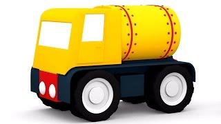 3D мультфильм для детей 4 машинки. БЕНЗОВОЗ и Заправочная Станция