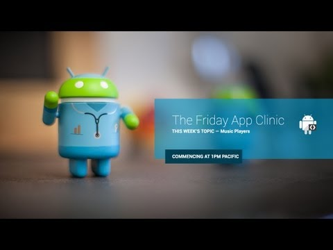 The Friday App Clinic: Music Players