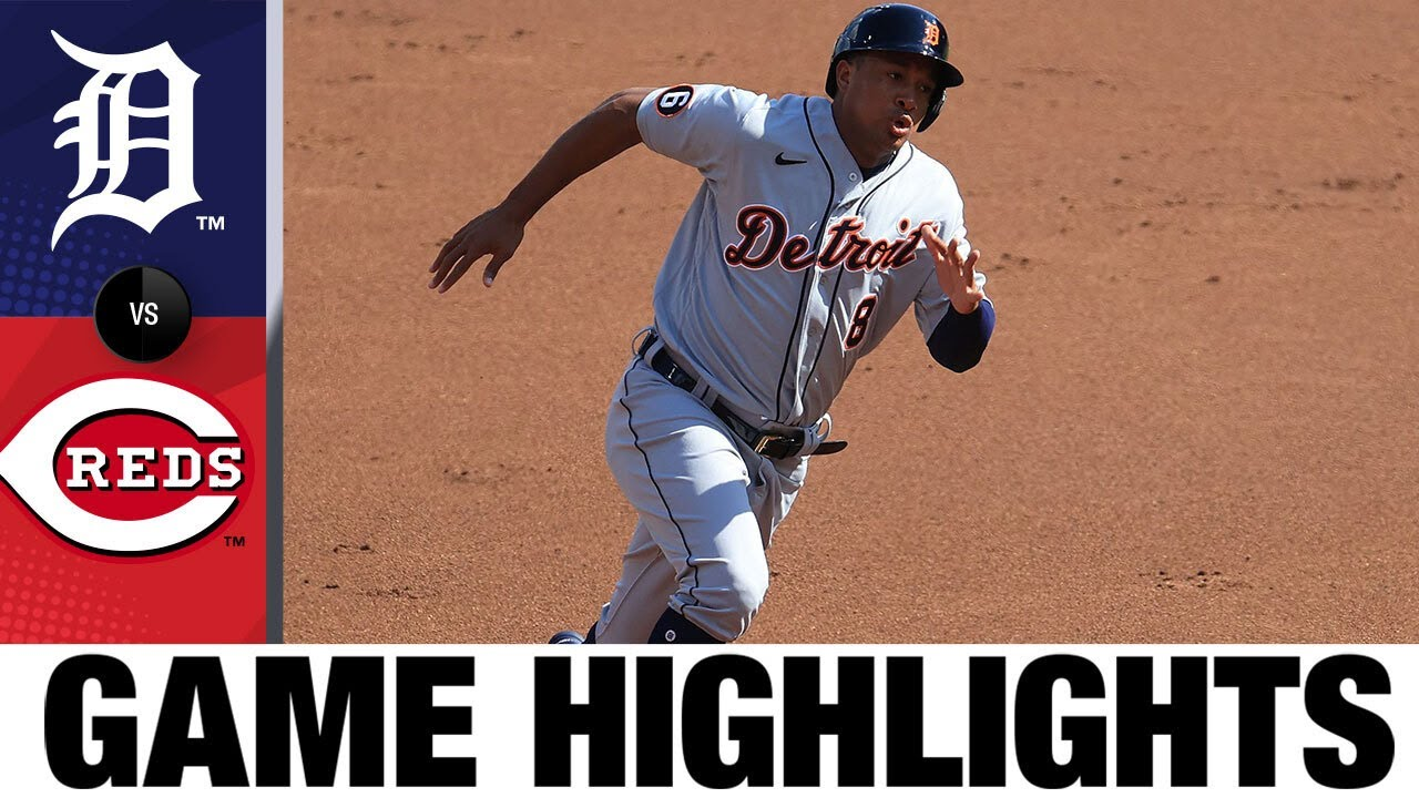 JaCoby Jones smashes go-ahead homer in 9th | Tigers-Reds Highlights 7/25/20