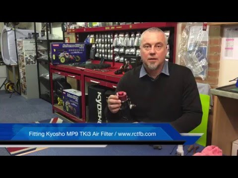 Fitting Kyosho Inferno MP9 TKi3 Air Filter