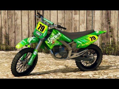 Gta 5 How To Spawn The Sanchez Motocross Bike Cheat Code Xbox