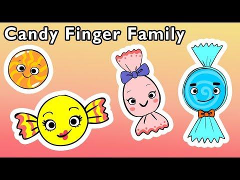馃崿Candy Finger Family and More | SWEET TREAT FINGER SONGS | Nursery Rhymes from Mother Goose Club!