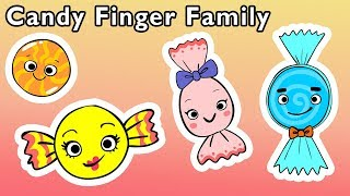 🍬Candy Finger Family and More | SWEET TREAT FINGER SONGS | Nursery Rhymes from Mother Goose Club!