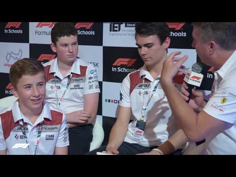 F1 In Schools Winners Announced | 2018 Singapore Grand Prix