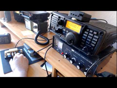 Translated CW QSO with a russian operator