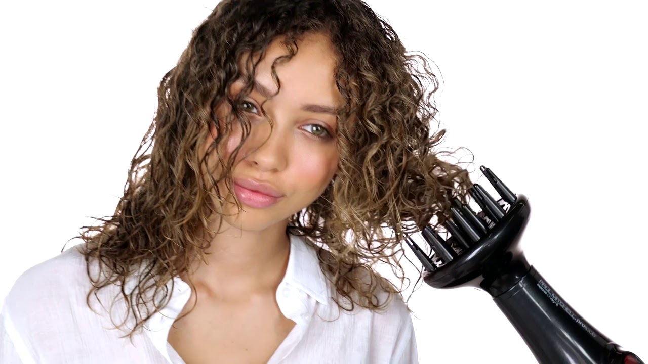 How To Naturally Style Curly Hair Hair Tutorial Paul Mitchell Youtube
