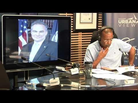 Joe Madison - Democratic VP Nominee Tim Kaine - Trump & the Birther Movement
