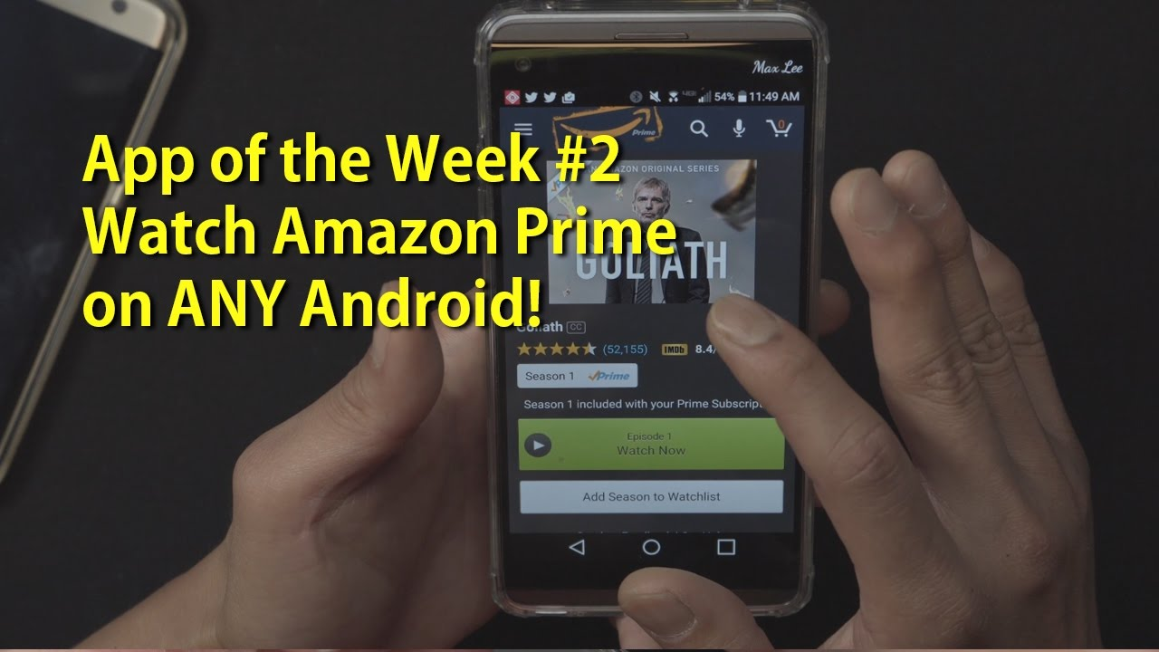 amazon prime instant video apk download