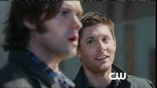 "Promo teaser for Supernatural episode 7x02, ""Hello Cruel World"" (captioned, HQ)"