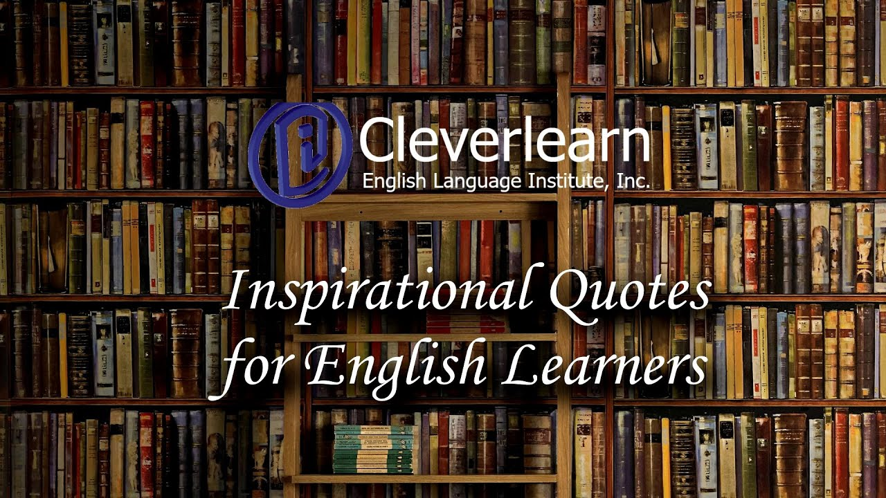 Inspirational Quotes for English Learners - YouTube