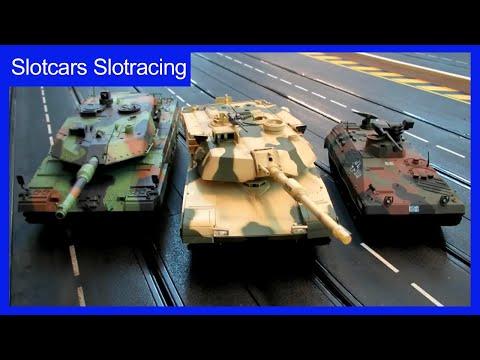Slot car Panzer zum Slot Racing auf der Carrera Bahn – Slot Car Racing Panzer