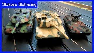 Slotcar Panzer auf der Carrera Bahn - Erbauer Stefan Ott