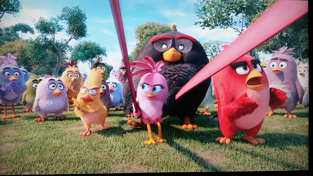 The Angry Birds Movie 2016 Movie Clip Stella Slingshots Hd Youtube