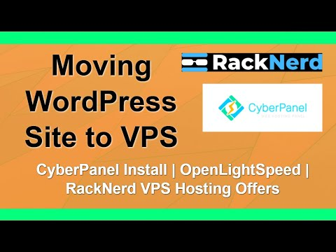 Moving WordPress Site to RackNerd VPS with CyberPanel thumbnail