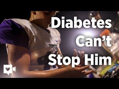 Excessive schooler with diabetes dominates on soccer discipline
