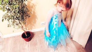 vlog апельсиновое дерево у Эльзы дома и покупки для интерьера  - Senya Miro