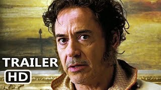 DOLITTLE Trailer (2020) Robert Downey Jr, Tom Holland Movie