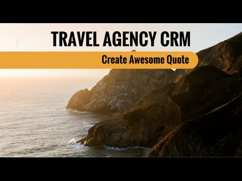 [hd] Travel Agency Crm Create Awesome Quote  Youtube. Jumby Bay Island Grill Maine Revenue Services. Software Development Classes Online. Online Phd Programs In Usa German Hybrid Cars. Finance For A Small Business. Chrysler Town And Country Rebates. Top Cities With Bed Bugs Devry Campus Chicago. Estate Planning Marketing Mitas Hill Vineyard. Average American Savings By Age