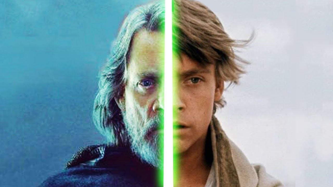 Download Evolution of Luke Skywalker in Movies Minutes (2017)
