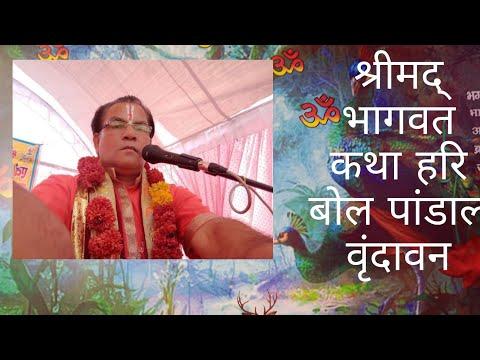 Arvind Dubey Ji Maharaj Vrindavan Shri Mad Bhagvat Krishna Katha