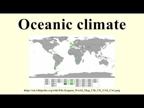 Oceanic climate