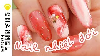 Nails kiểu miền nhiệt đới ♡