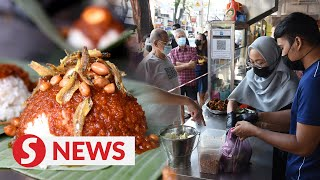 Retrenched couple get back on their feet with nasi lemak stall