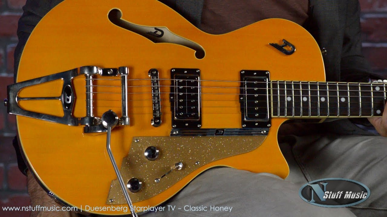 Duesenberg Starplayer Tv Classic Honey Youtube