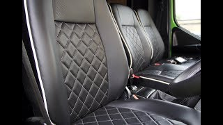 How To Re-upholster a car seat.