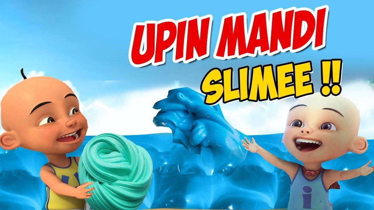 Upin ipin mandi Slime , ipin senang GTA Lucu - YouTube