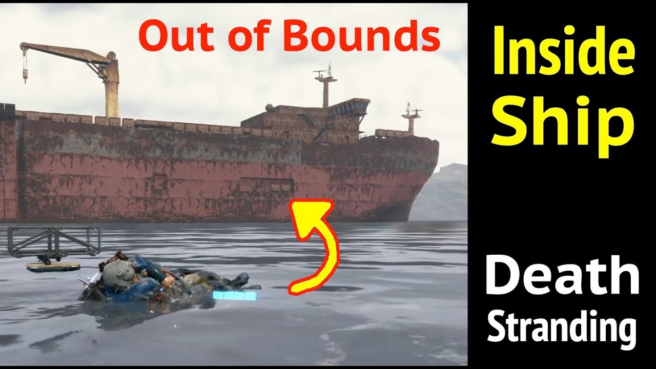 Inside Ship (Out of Bounds) in Death Stranding thumbnail