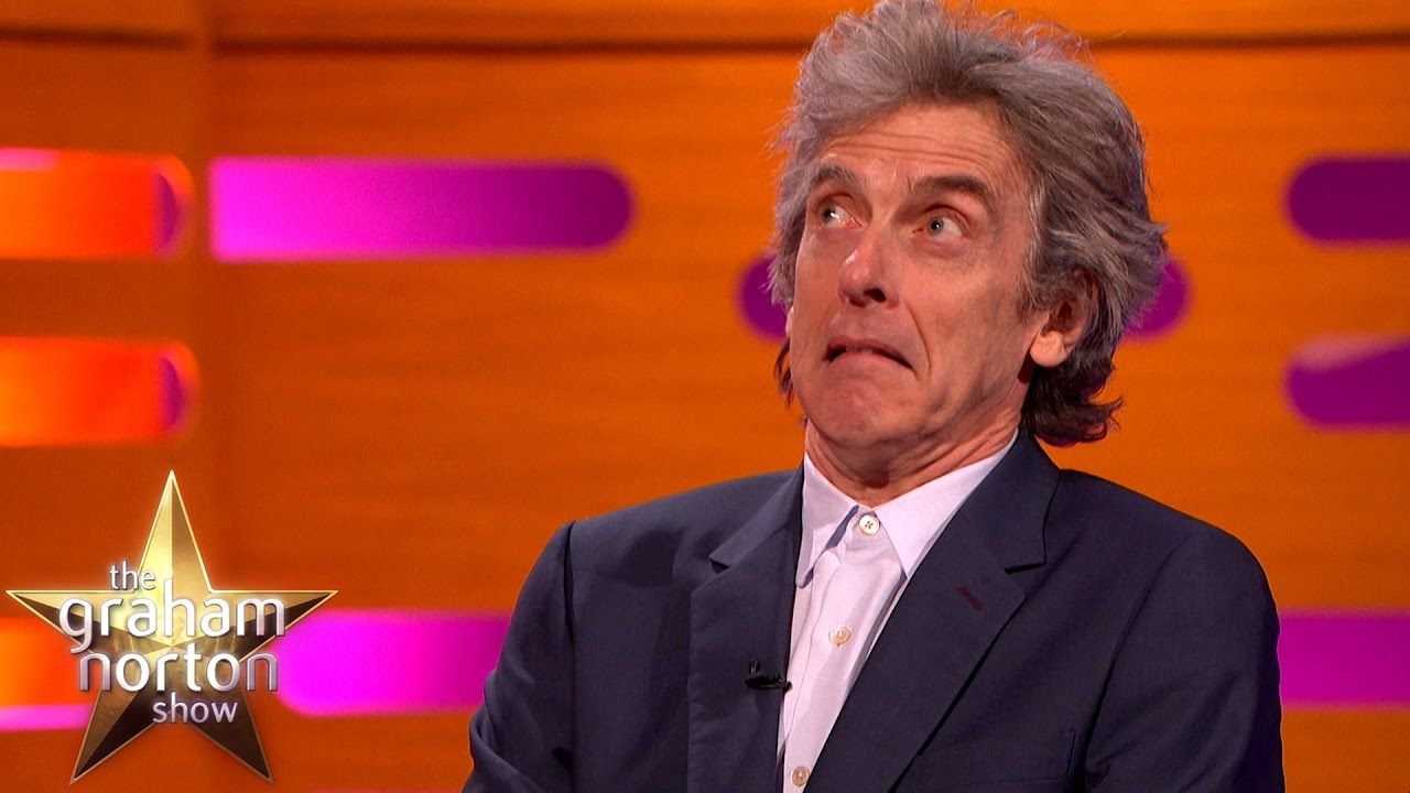 peter capaldi discusses the death of dr who the graha