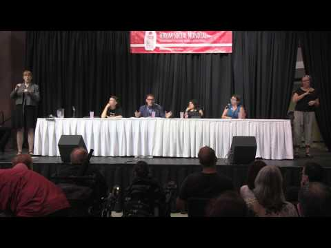 """Lawrence Carter-Long - Audism and ableism: two """"isms"""" too often forgotten - WSF2016"""