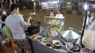 CAMBODIAN Street Food - Night Fried Rice & Noodle 2018