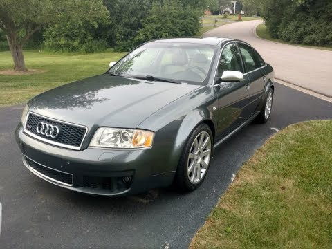 2003 Audi RS6 Review - breathtaking power, but you already knew that