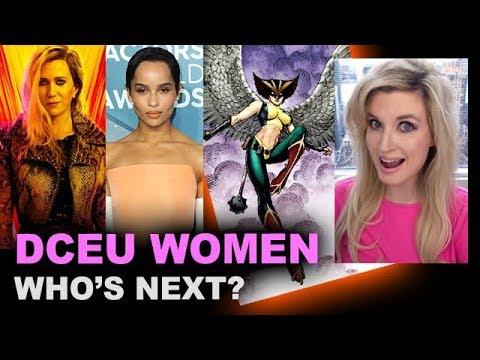 DCEU - Cheetah WW1984, Zoe Kravitz Catwoman, Hawkgirl