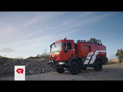 FFFT - Forest Fire Fighting Truck von Rosenbauer