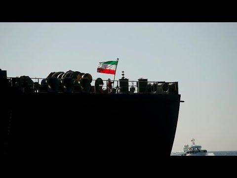 В иранский танкер обстрелян ракетами?