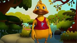 Lustiges Geburtstagslied und Video -  Happy Birthday to You -  mit Duggy Duck, Geburtstagsgrüße
