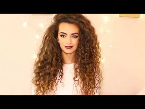 How To Get Volume In Your Curly Hair Itsrimi Youtube
